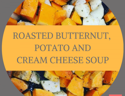 Roasted Butternut, Potato and Cream Cheese Soup