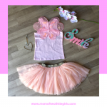 Online shopping with superbalist pink skirt and fairy wing shirt