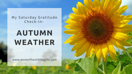 Gratitude Autumn Weather