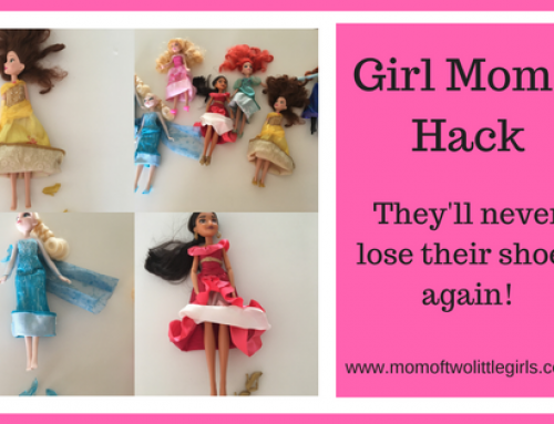 Girl Mom Hack | How To Avoid Losing The Doll Shoes!