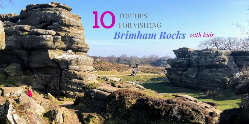 tips for visiting Brimham Rocks with kids