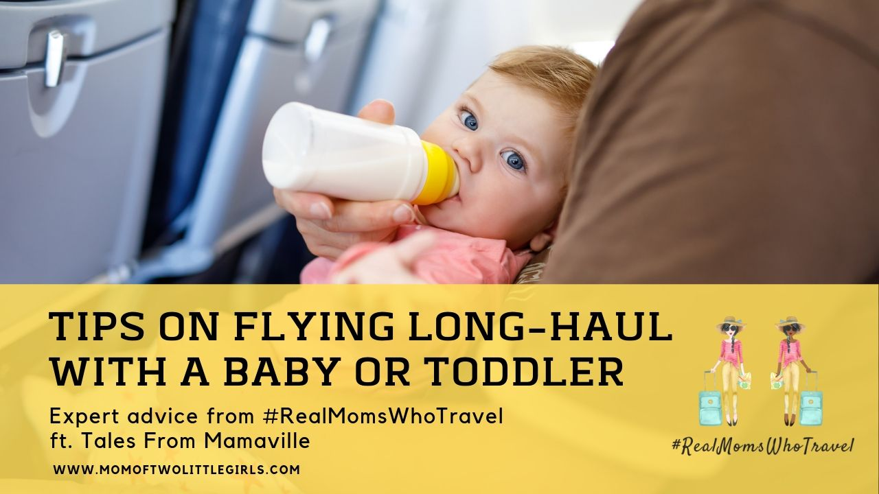 tips on flying long haul with a baby