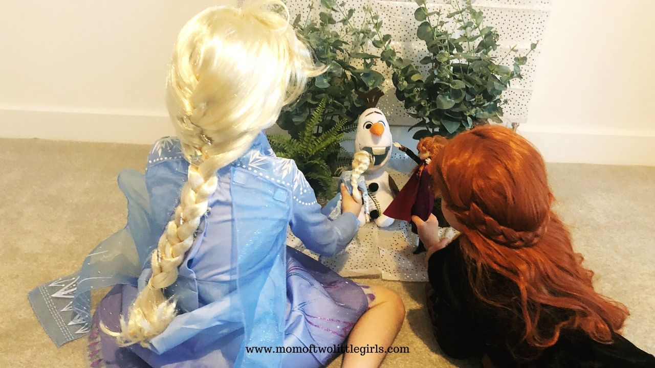 Anna and Elsa to the rescue