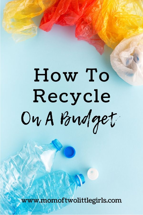 how to recycle on a budget