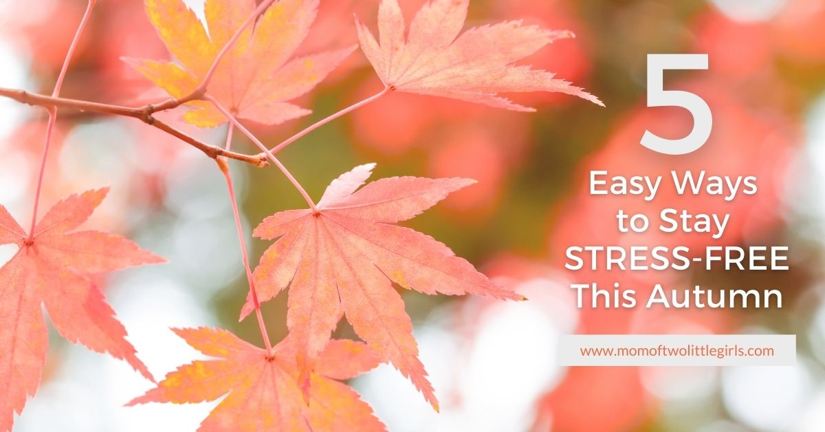 5 easy ways to stay stress free this autumn
