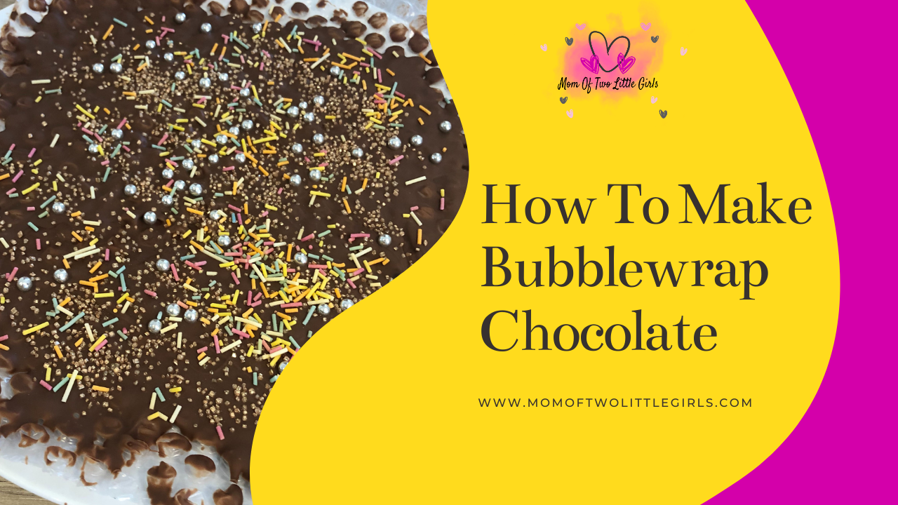 How To Make Bubble Wrap Chocolate