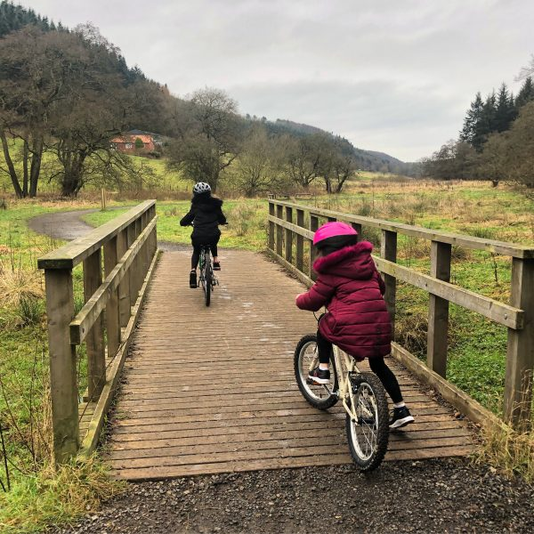 outdoor activities for families cycling