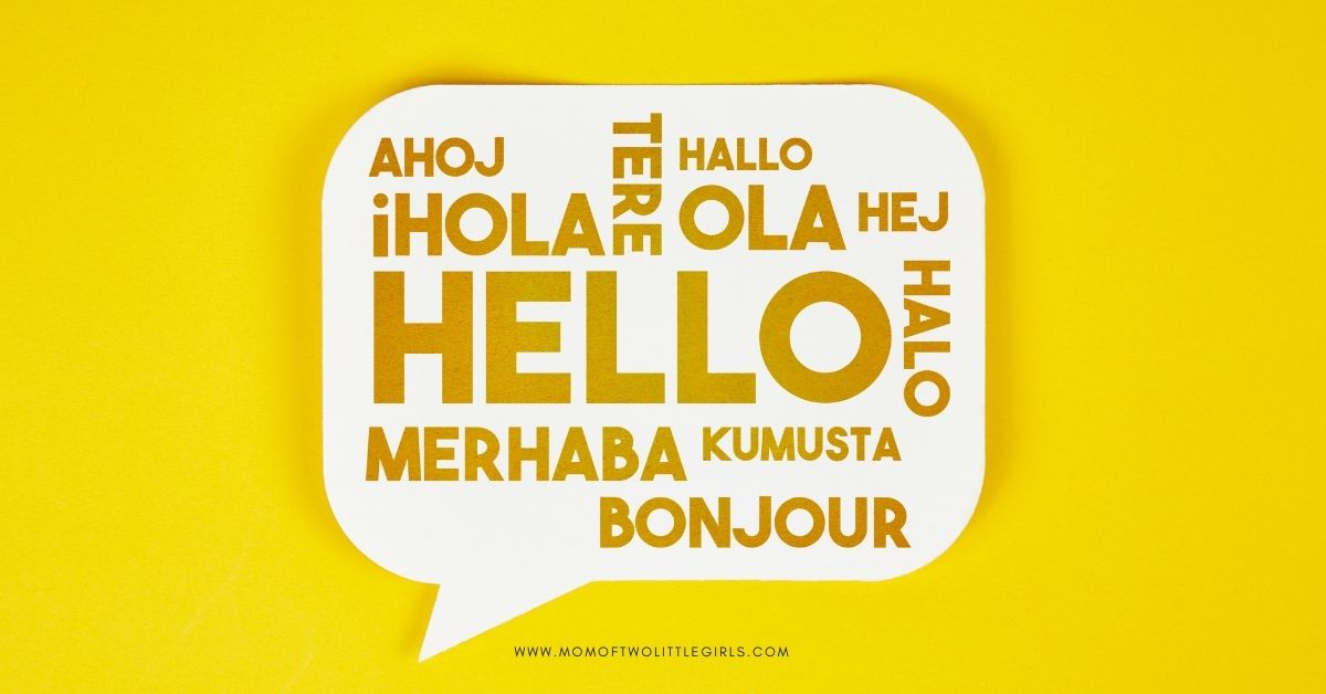 tips for teaching your child a new language