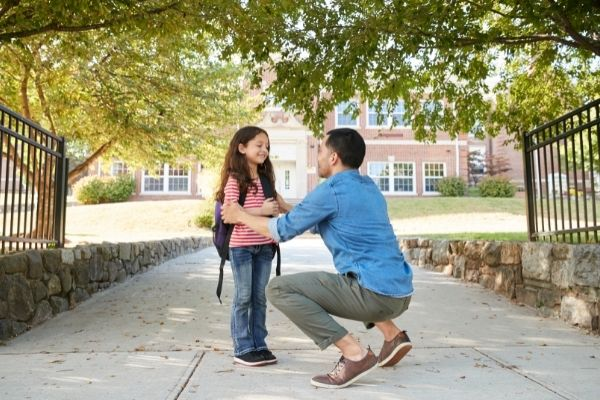establish a routine to help you and your child cope with your divorce