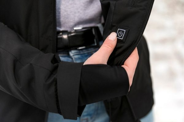 jacket with built-in heating