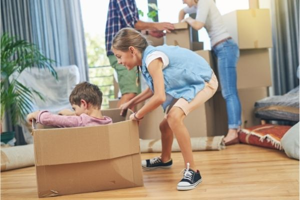 how to make moving day less stressful