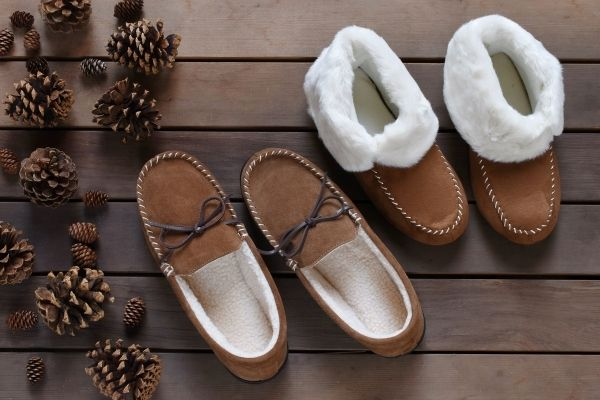 comfy slippers for grandparents